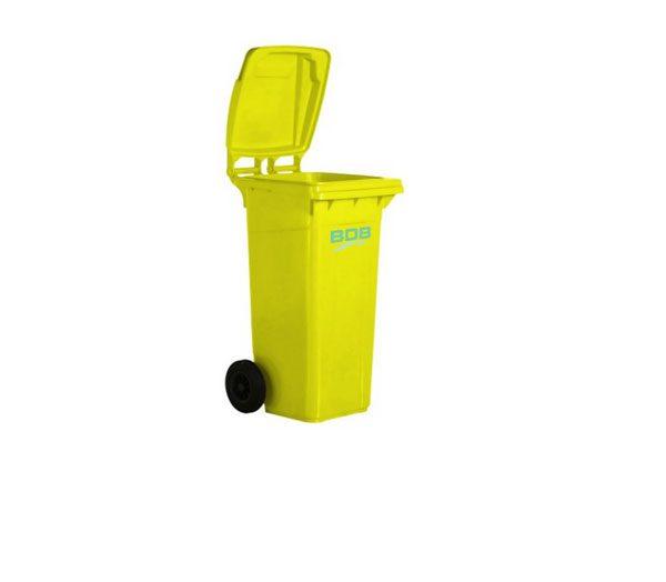 120 Litre Platik Çöp Konteyneri