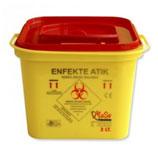 3 Litre Enfekte Atık Kovası